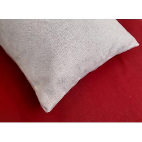 Traversin rectangle pure laine